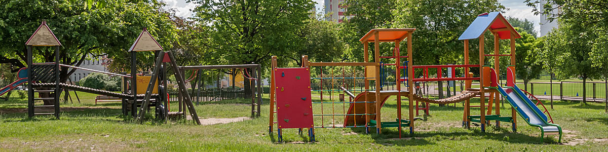 Ekologiczne place zabaw dla dzieci w SM Czuby