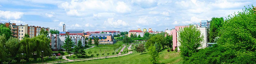 Osiedla pełne zieleni SM Czuby
