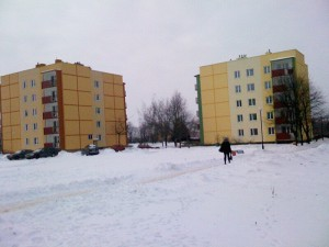 Budynki ul.Szaserów 1 i 9